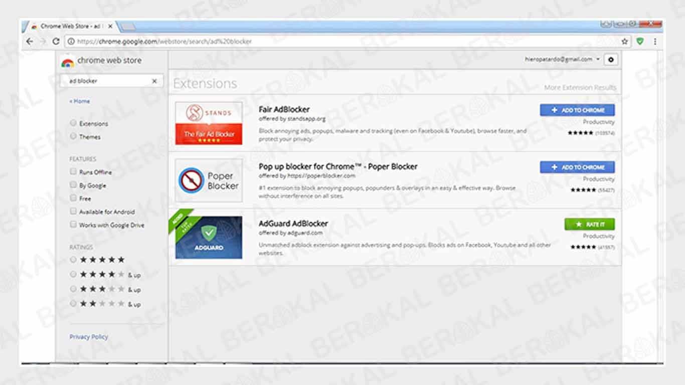 Cara Menghilangkan Iklan di Youtube Chrome