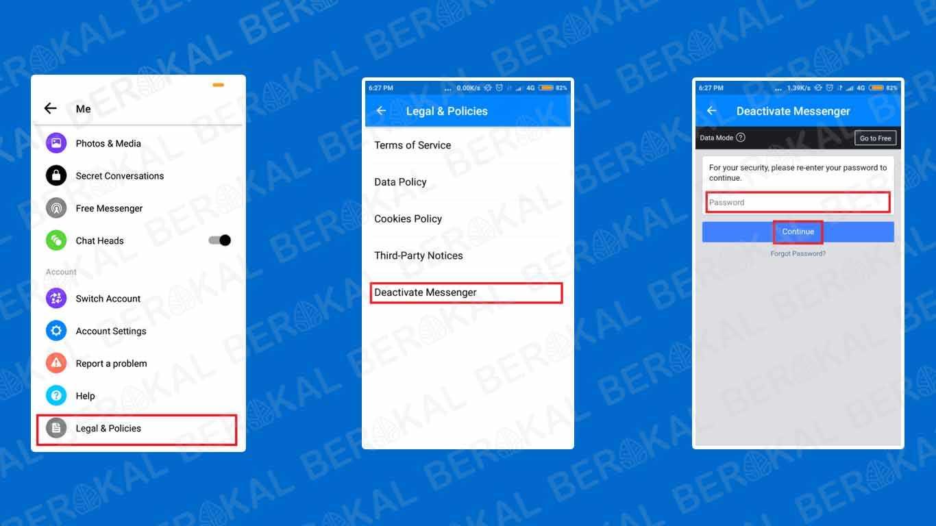 Cara Menonaktifkan Messenger di Android