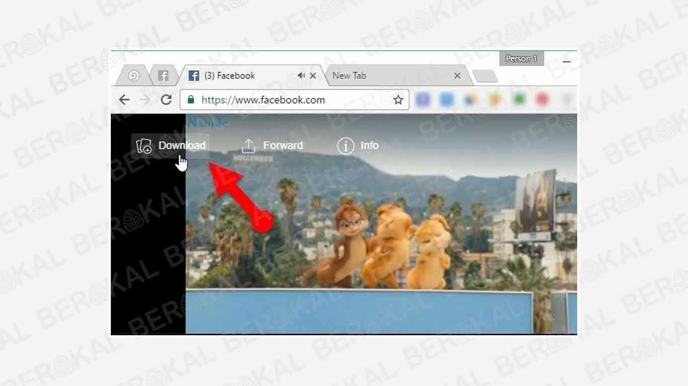 Tutorial Menyimpan Video dari Messenger di PC