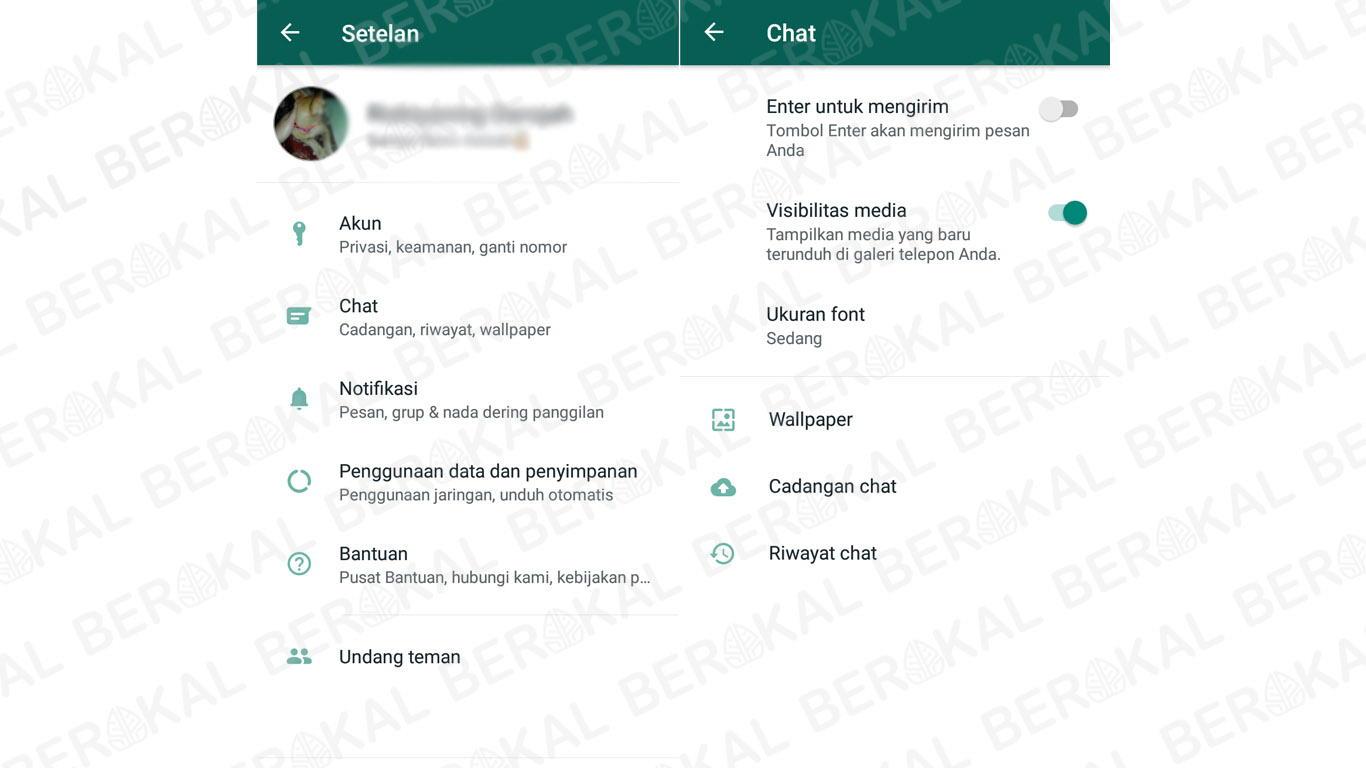 cara backup chat whatsapp terbaru