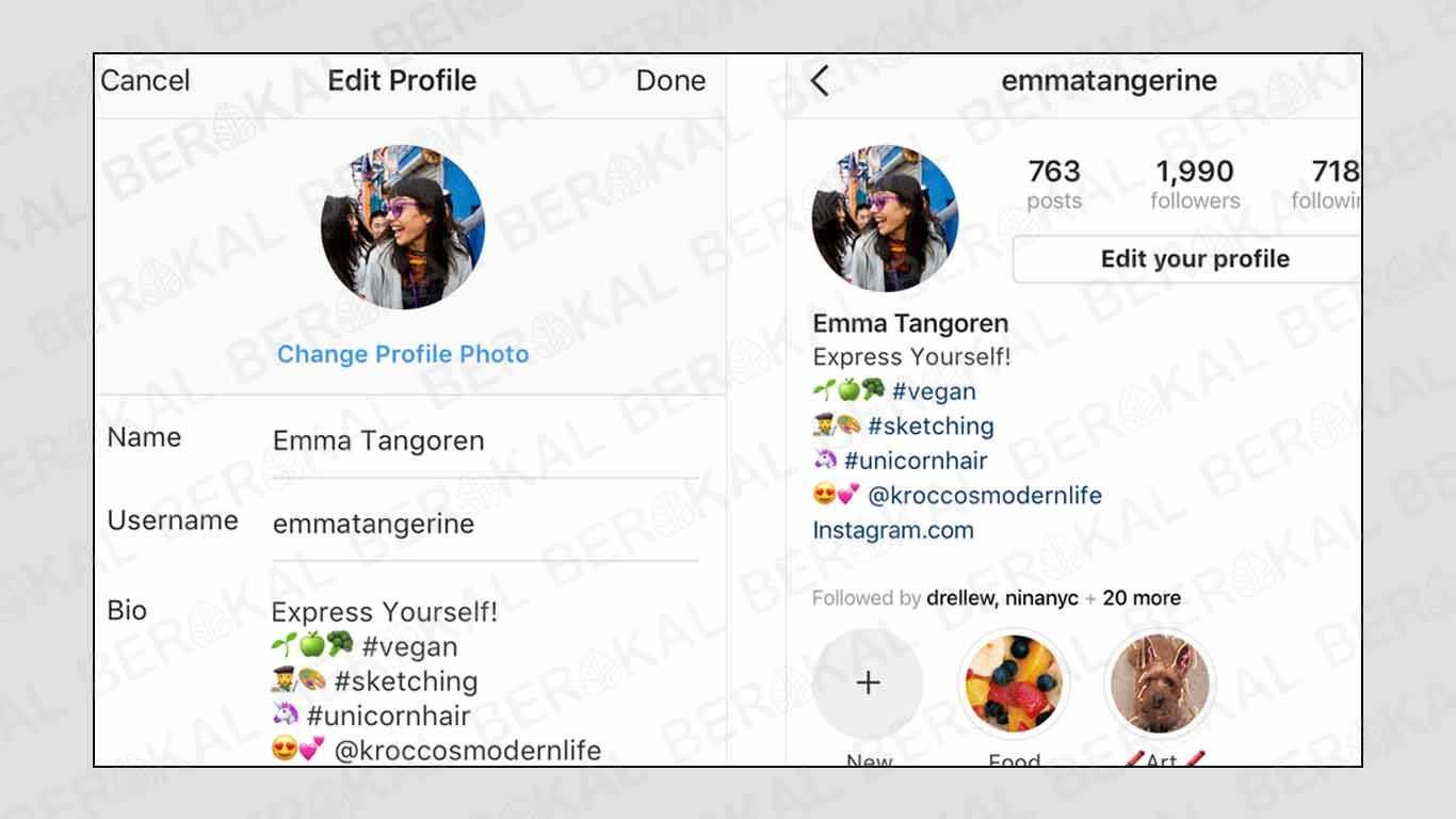 cara membuat akun tagar di instagram