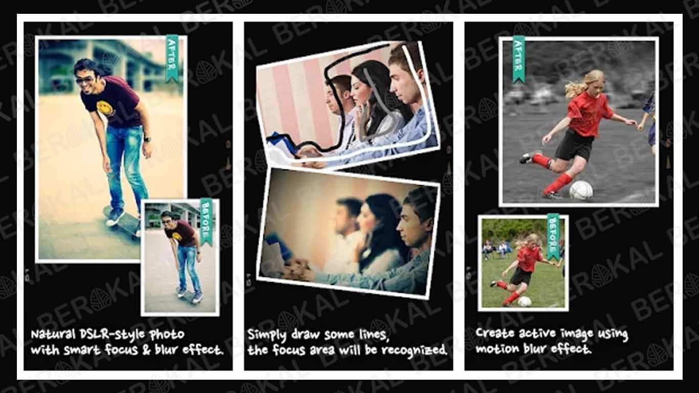 Aplikasi Kamera Bokeh AfterFocus