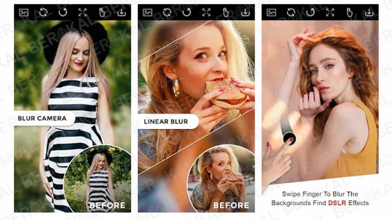 Aplikasi Kamera Bokeh Auto Blur Camera