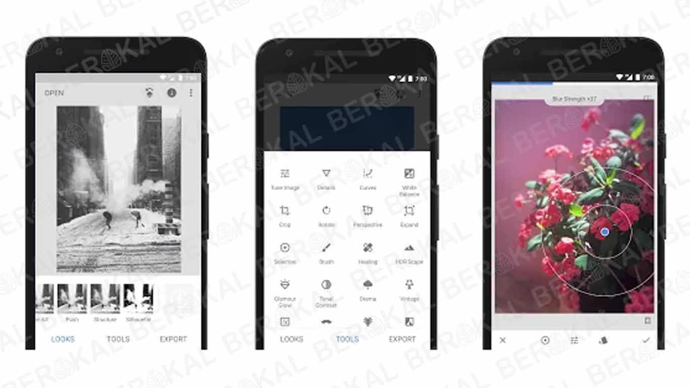 Aplikasi Kamera Bokeh Snapseed