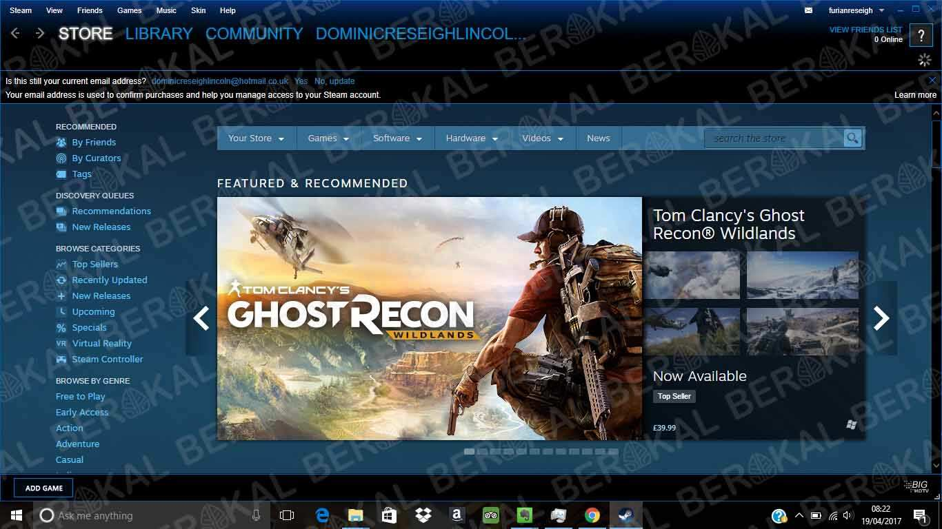 Cara Download Game di Laptop Melalui Steam