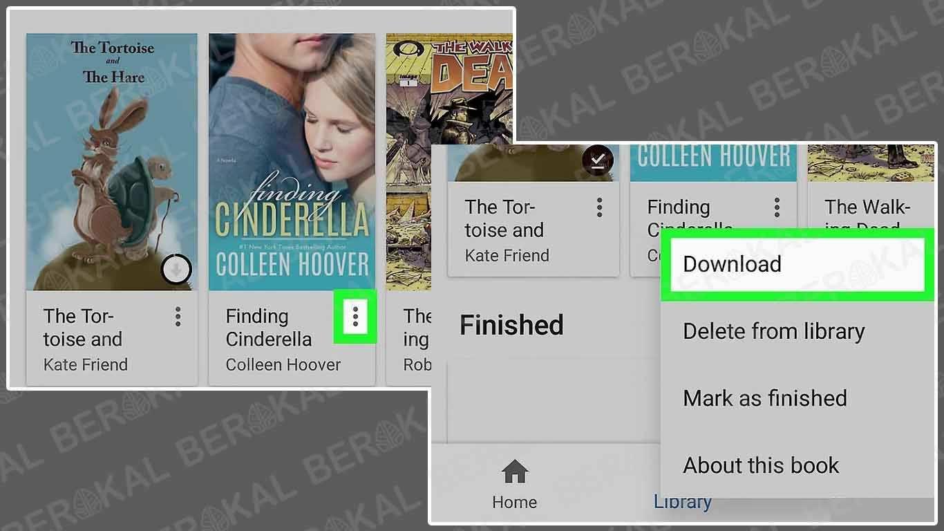 Cara Download Google Book di Android