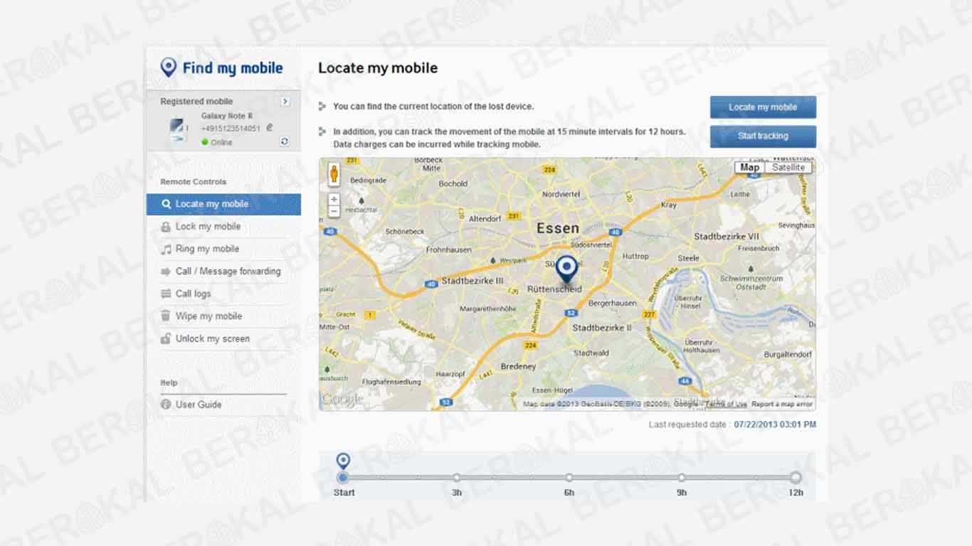Cara Melacak HP Samsung dengan Find My Mobile