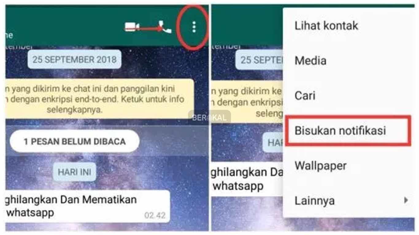 Cara Menghilangkan Notifikasi WhatsApp dengan Cepat