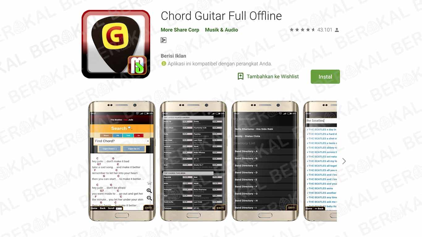 Chord Guitar Full Offline