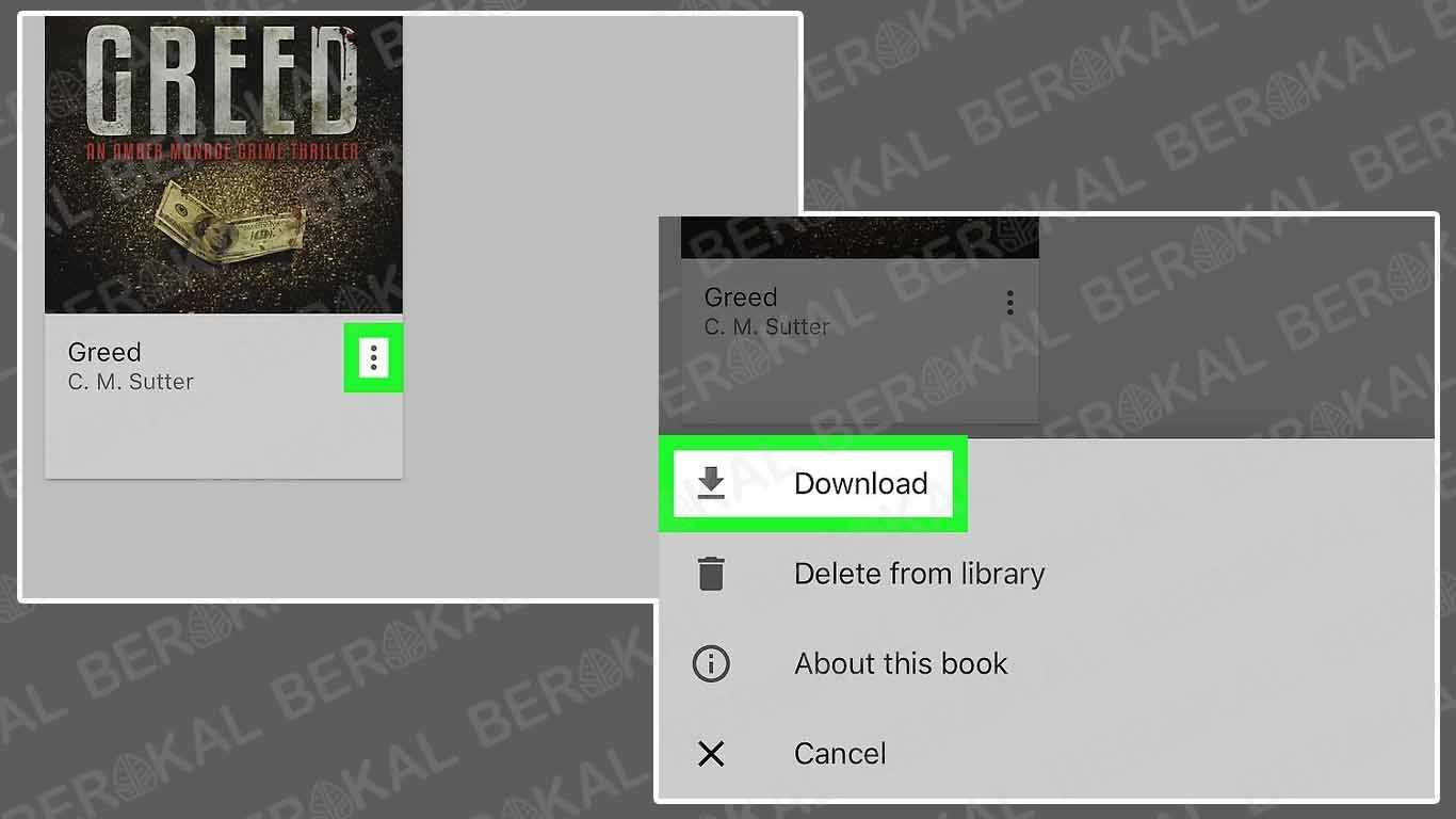 Download Google Books di iPhone dan iPad