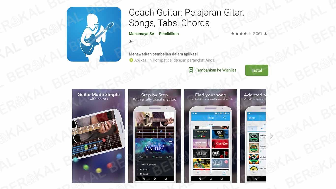 aplikasi kunci gitar lengkap