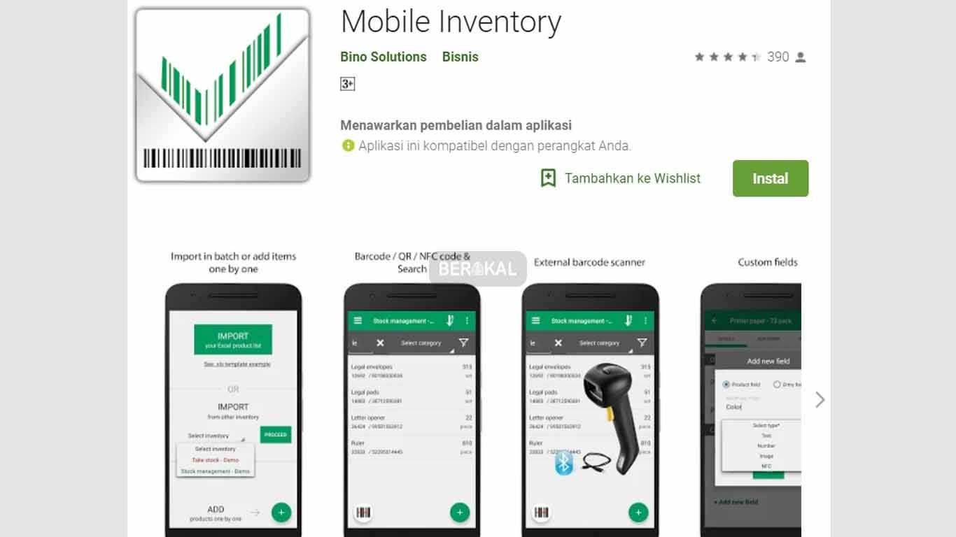 aplikasi stok barang Mobile Inventory