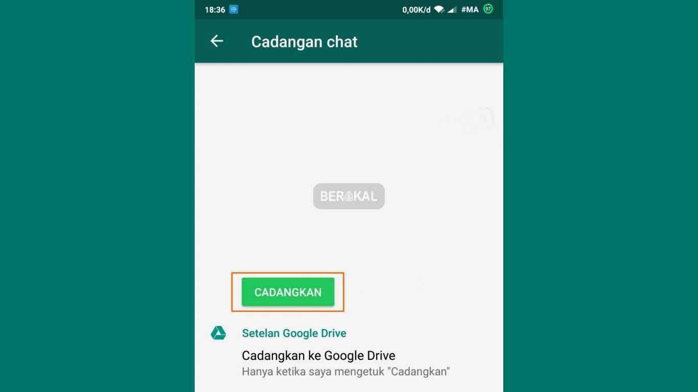 backup chat wa tanpa aplikasi