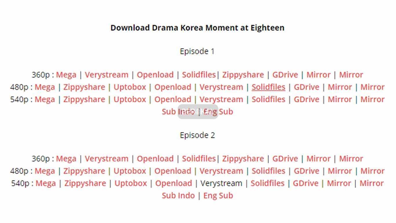 cara download drama korea di pc