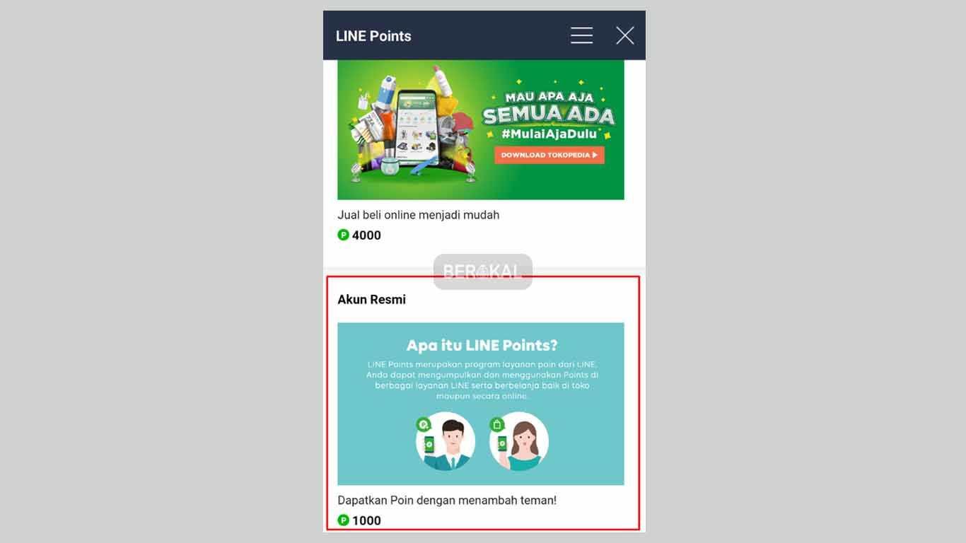 cara mendapatkan koin line tanpa download