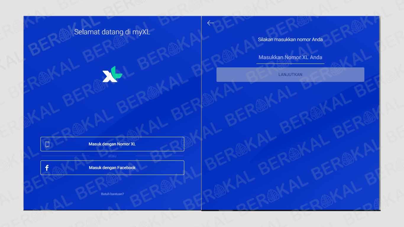 cek pulsa xl melalui website resmi XL
