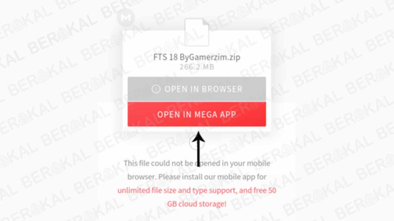 download file mega di android