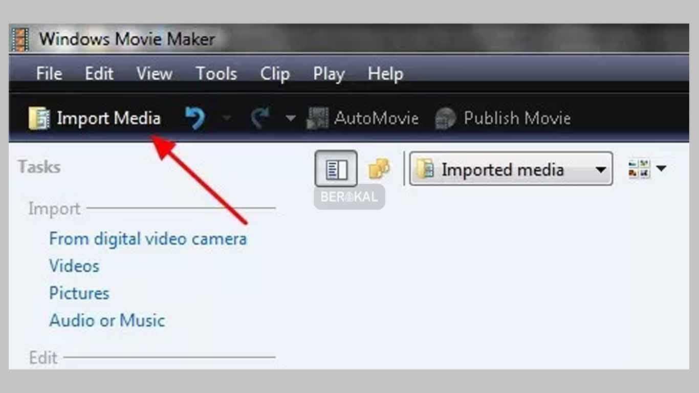 import media movie maker
