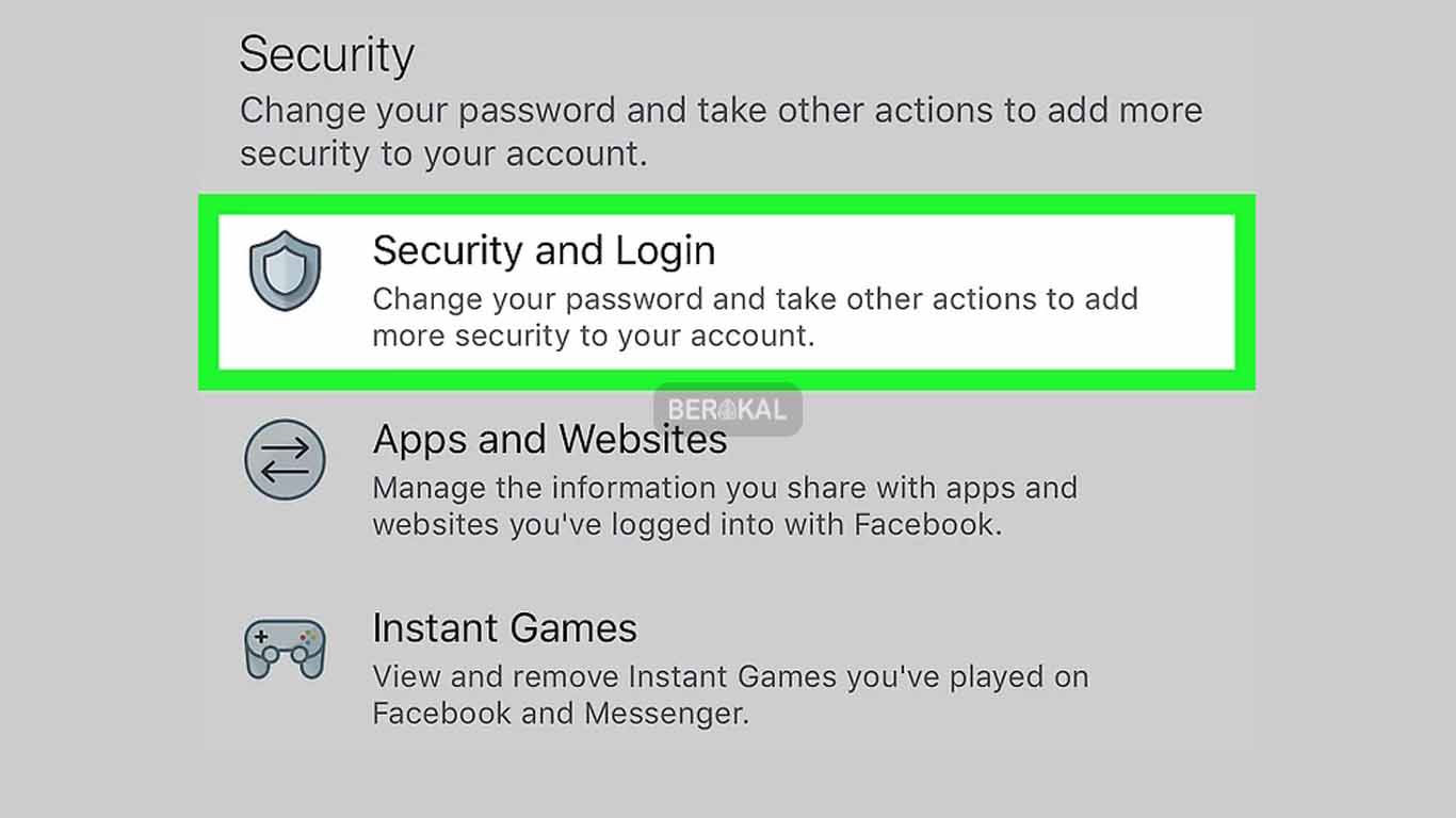 security and login fb