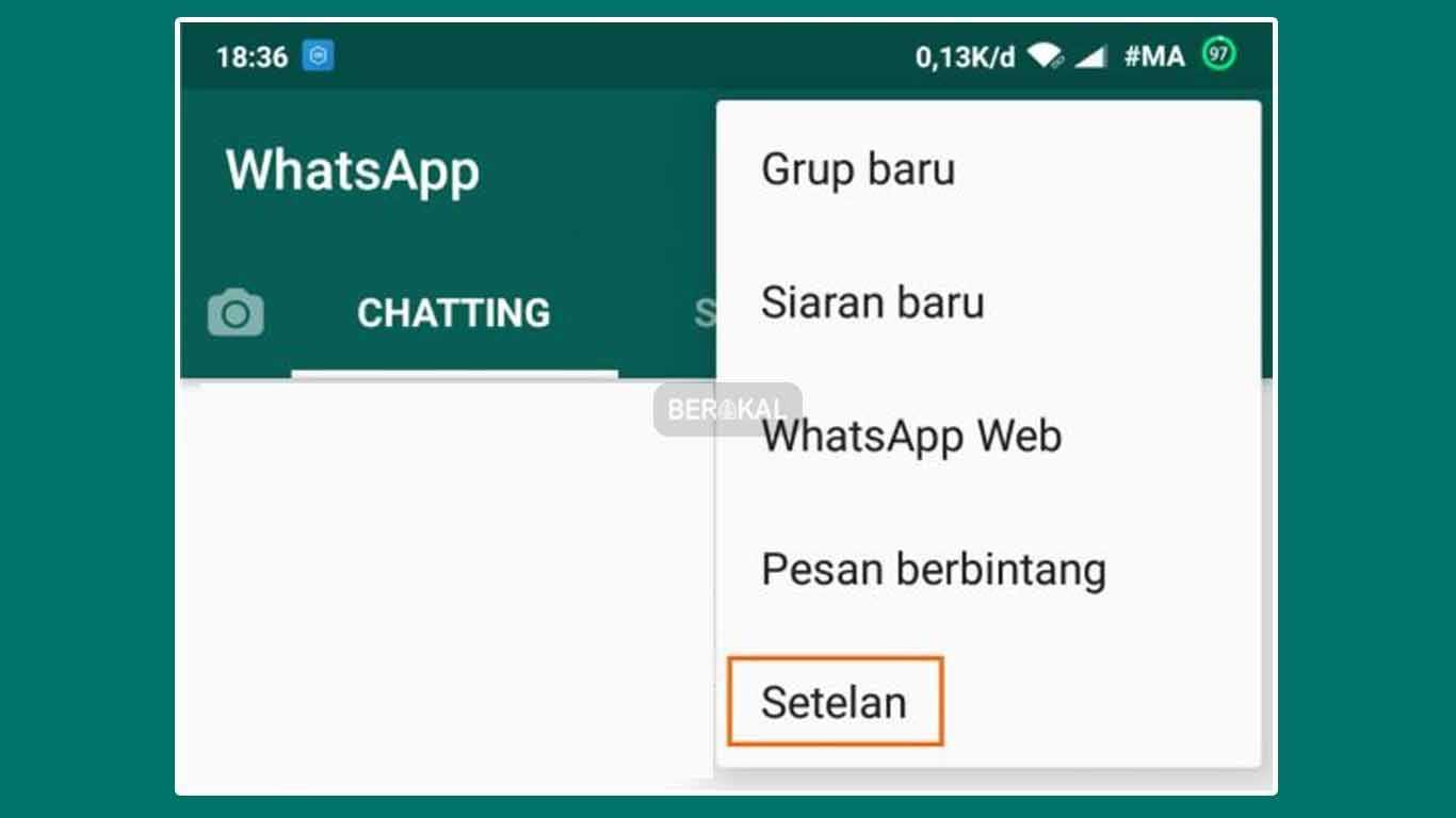 setelan whatsapp di android terbaru