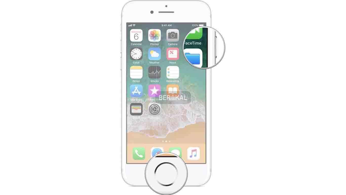 tombol rahasia screenshot iphone