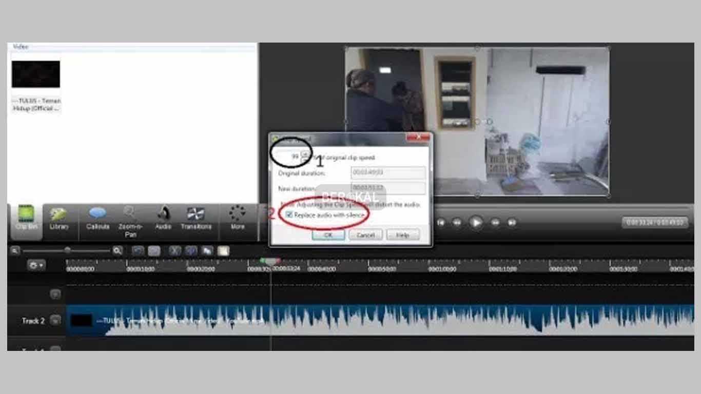 tutorial delete audio camtasia
