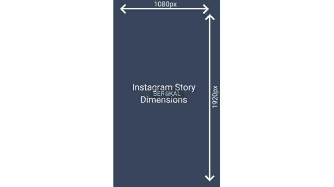 ukuran story instagram