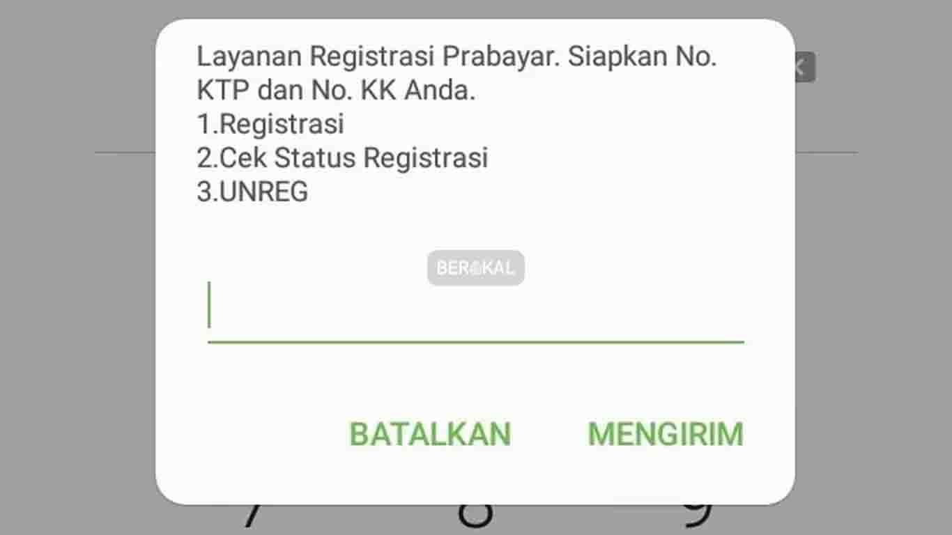 Cek Status Registrasi