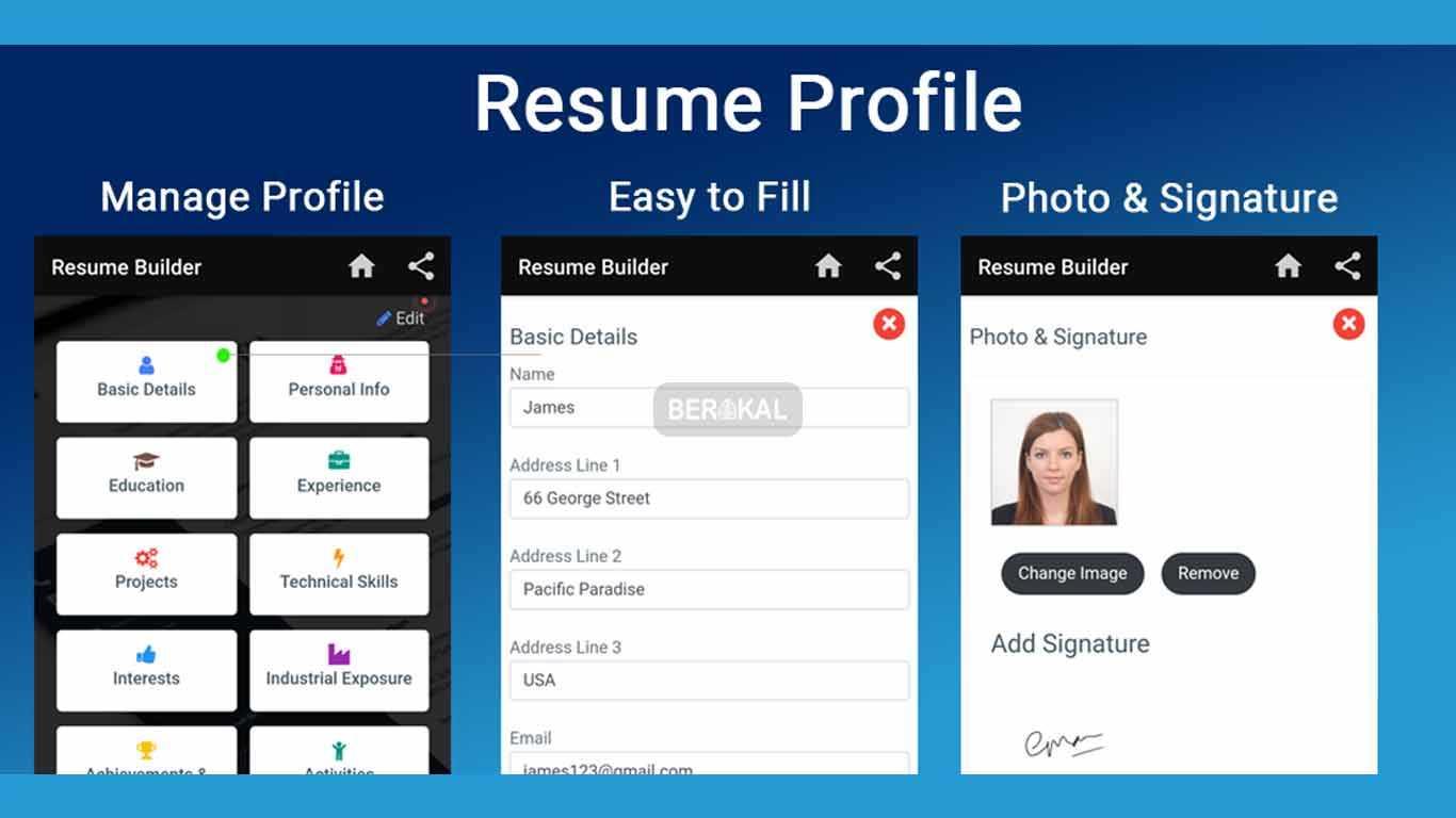 Resume Builder Free CV