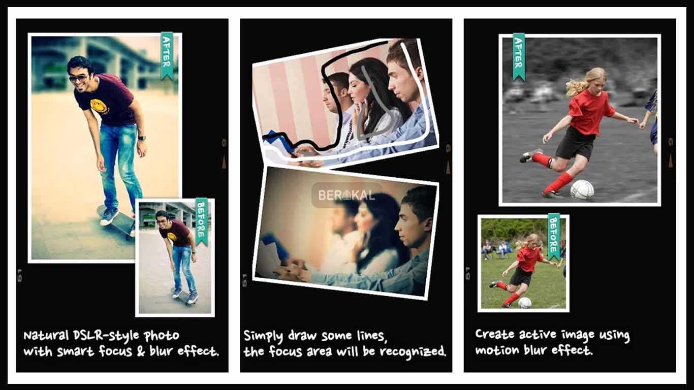 Aplikasi Video Bokeh app