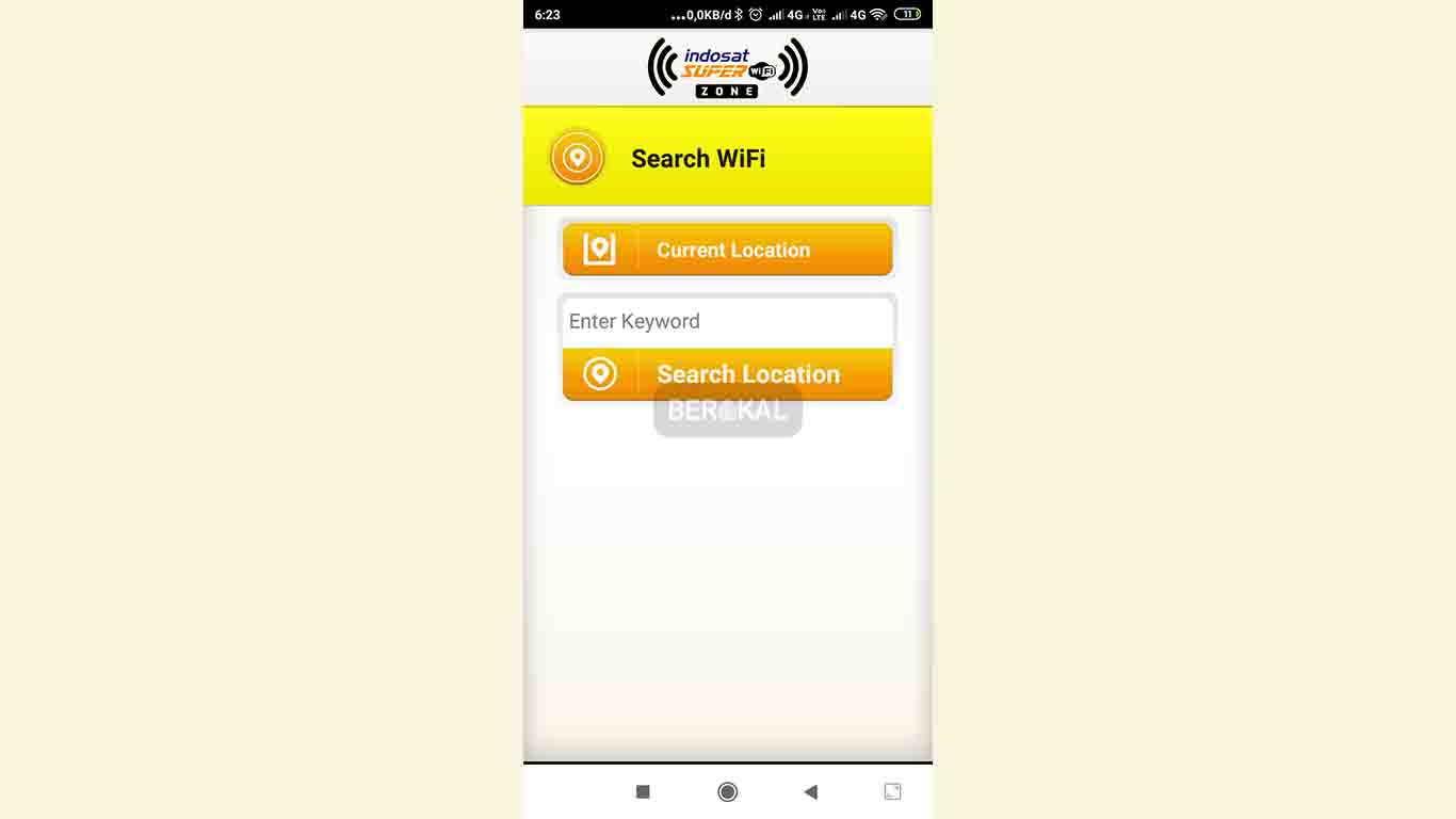 cara cek lokasi indosat super wifi dengan aplikasi