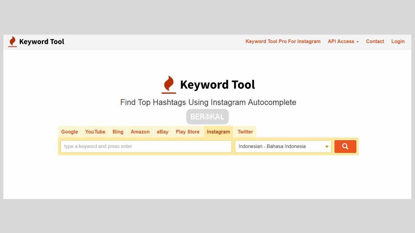 keyword tool ig