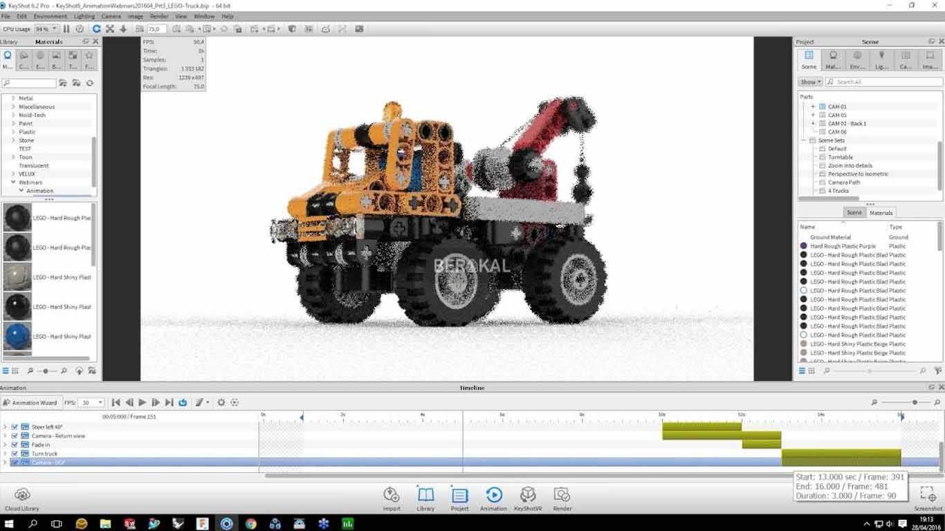 software pembuat animasi 3d yang ringan