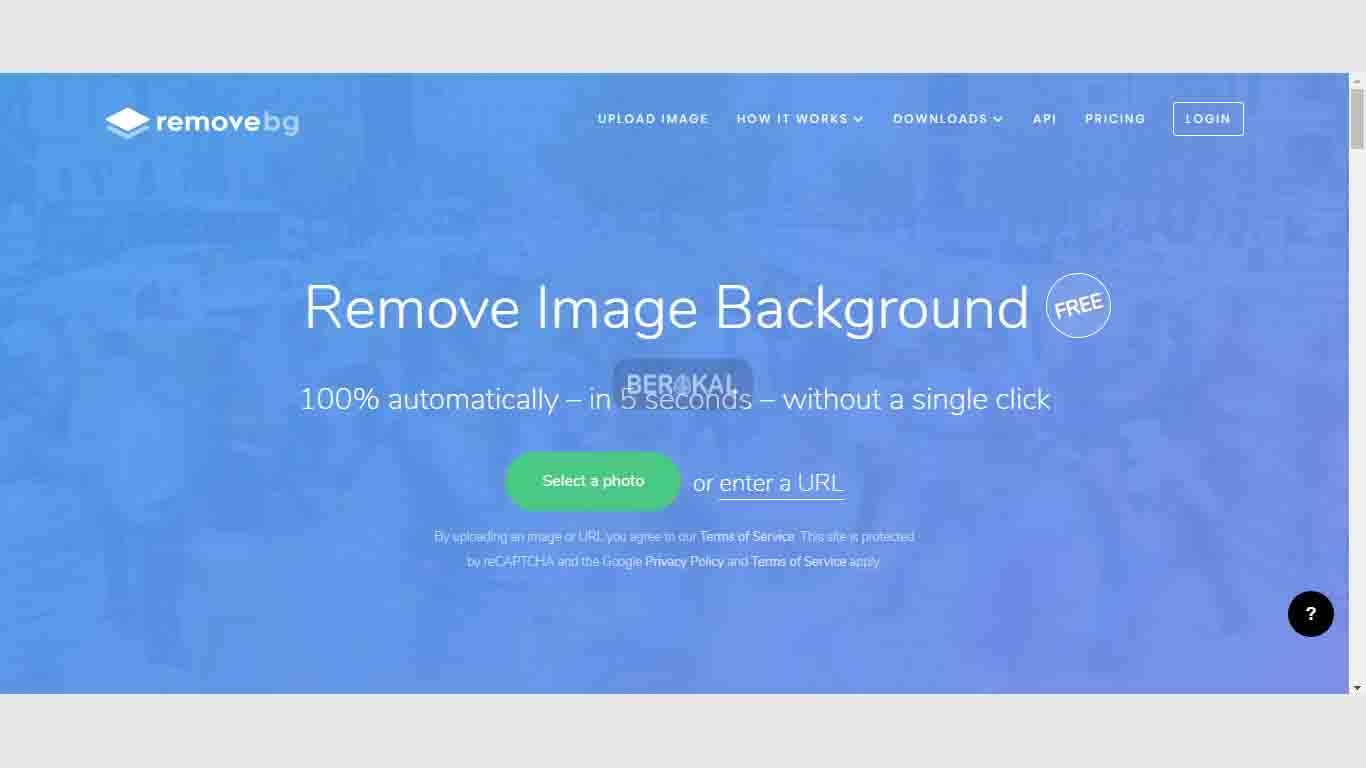 Cara Ganti Background Foto Online Menggunakan Removebg