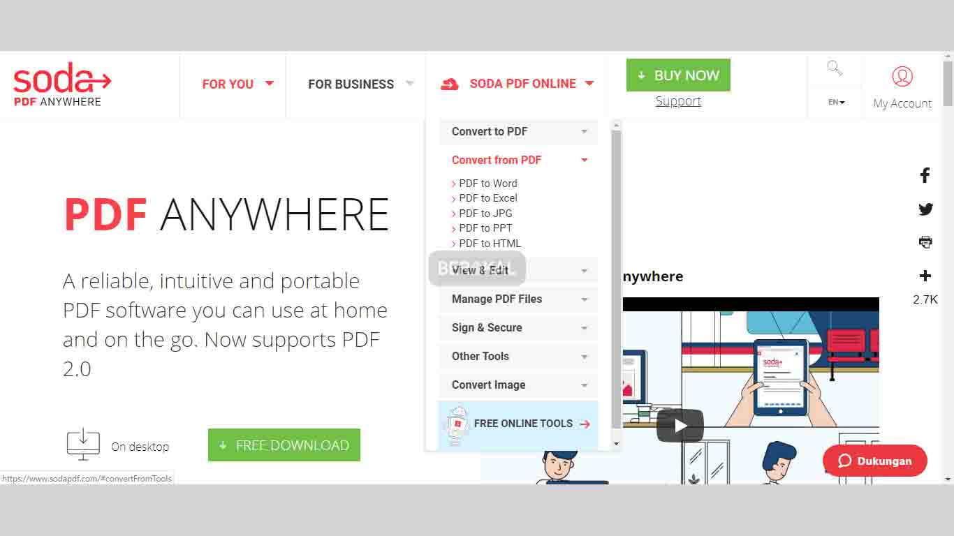 Cara Mengubah File PDF dengan Soda PDF Online