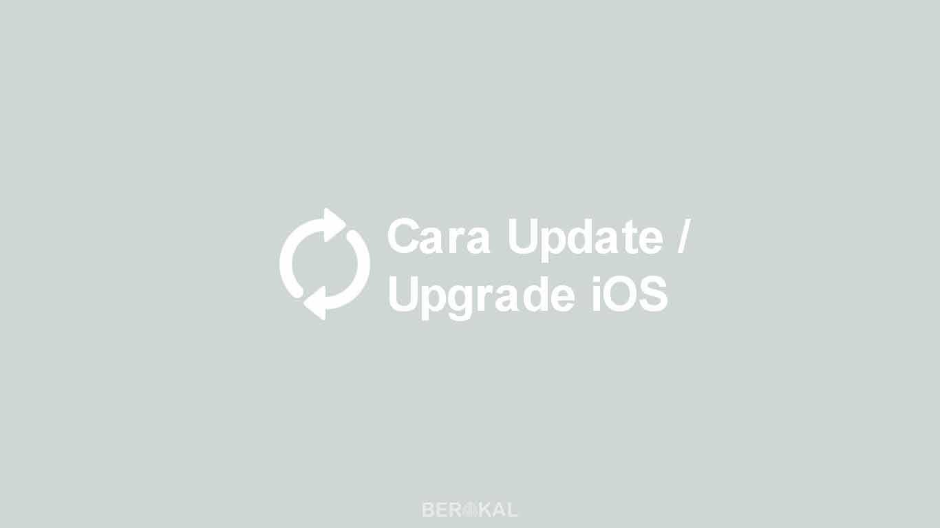 Cara Update iOS
