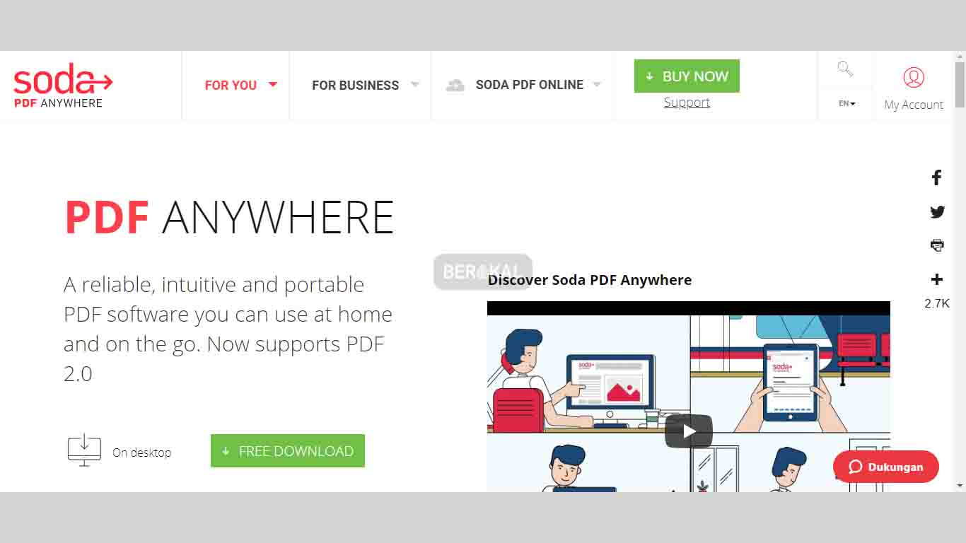 Soda PDF Online Situs Pengubah File
