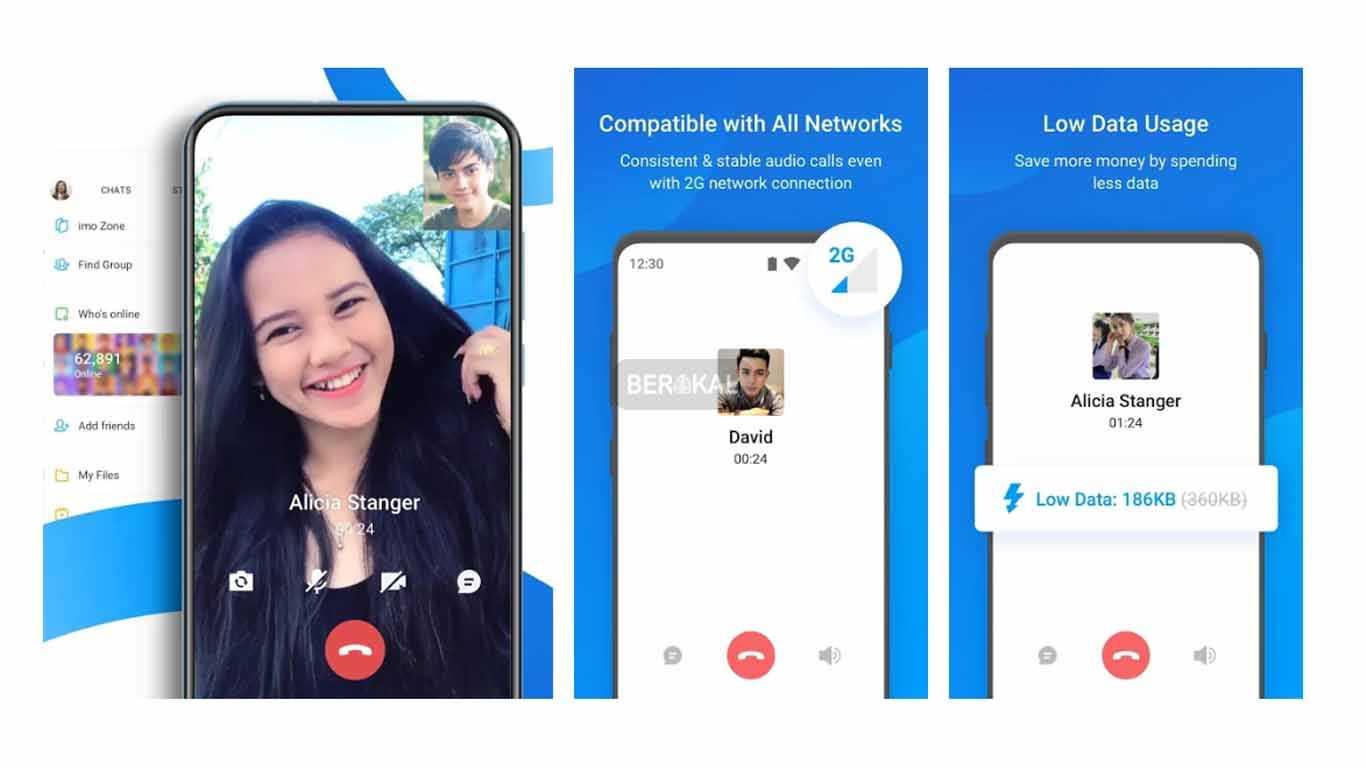 aplikasi imo video call android