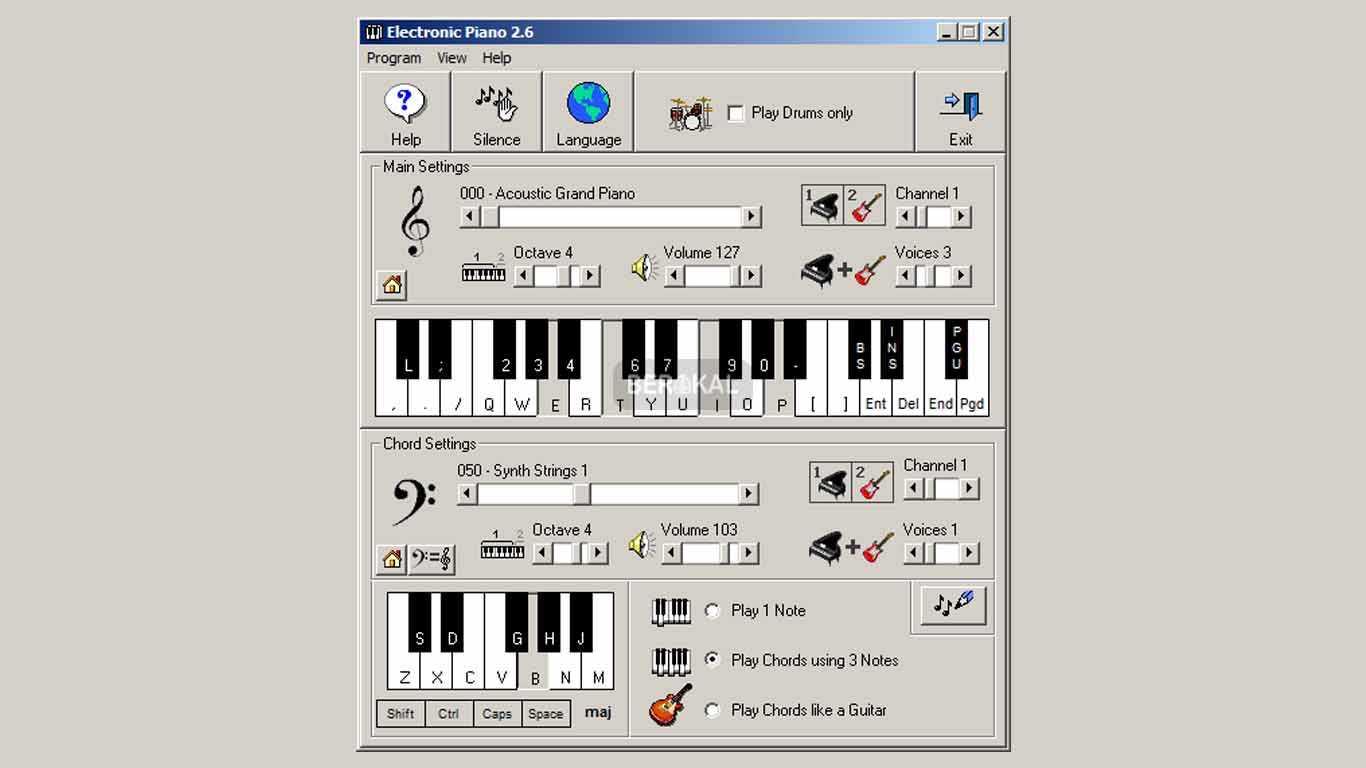 aplikasi piano terbaik pc