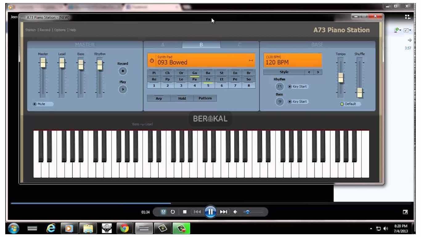 aplikasi piano untuk pc