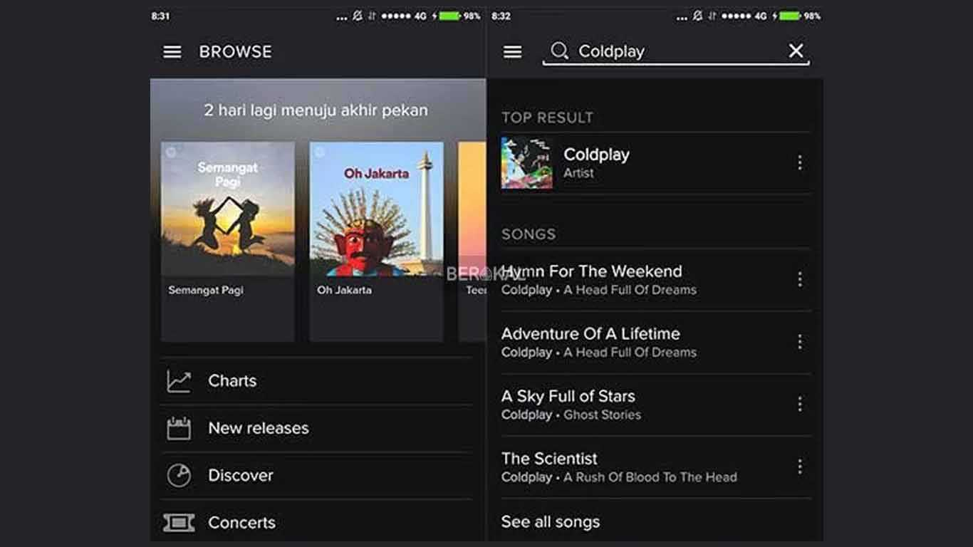 cara download lagu di spotify lewat pc