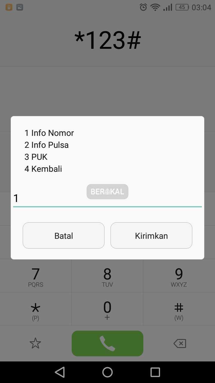 info nomor xl