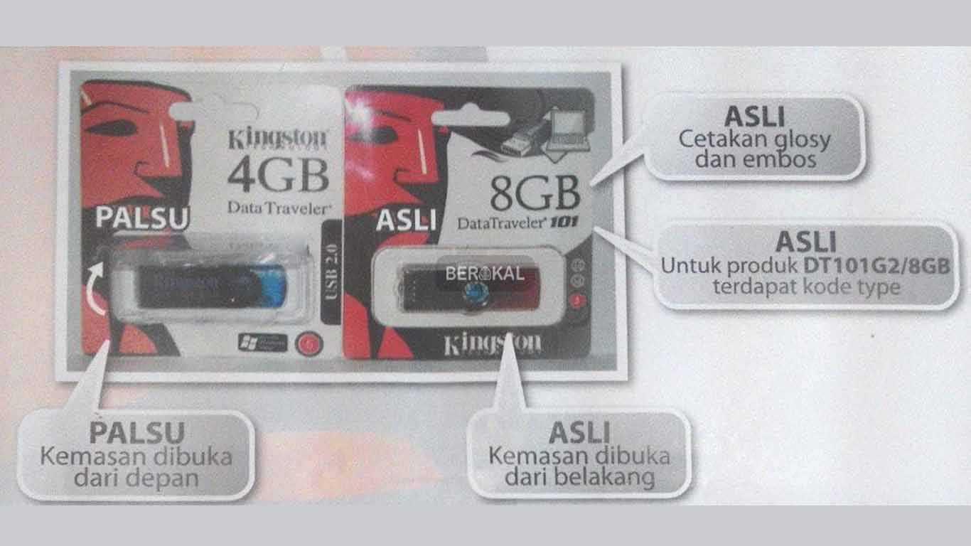 perbedaan flashdisk asli dan palsu