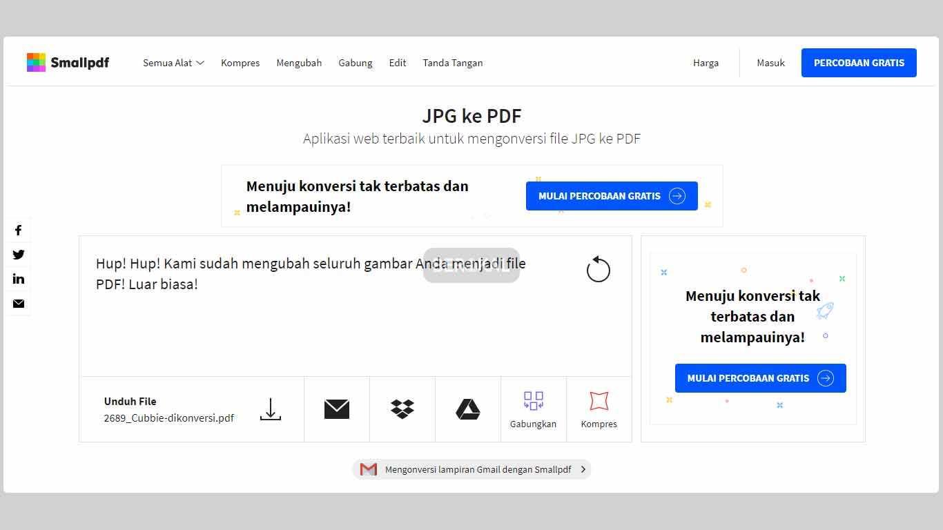 cara convert file jpeg ke pdf