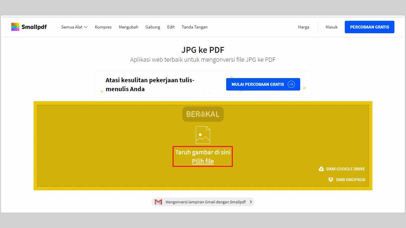 cara convert gambar ke pdf