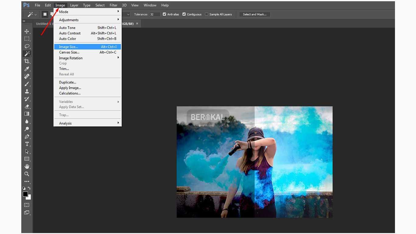 Cara Memperbesar Gambar Agar Tidak Pecah Di Photoshop ...