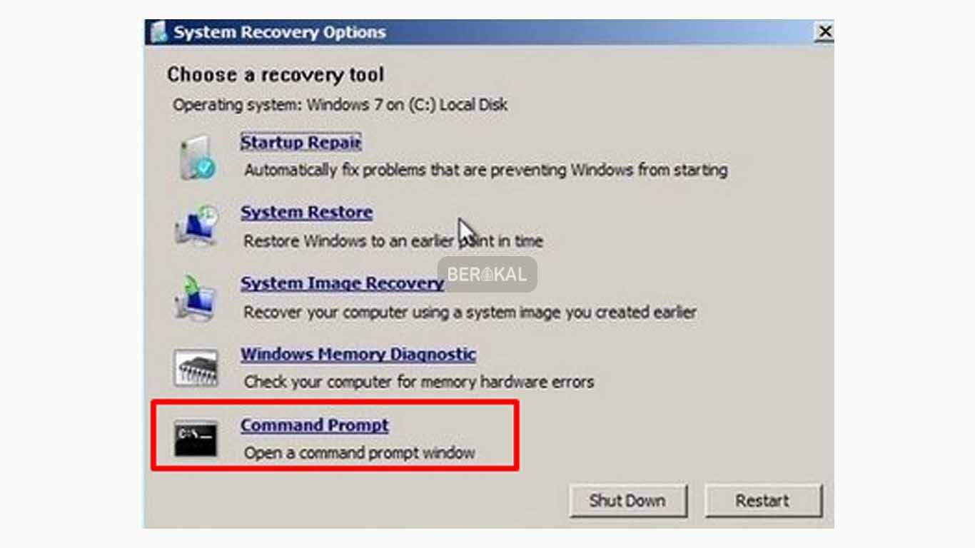 cara mengatasi startup repair windows 7 yang berulang-ulang