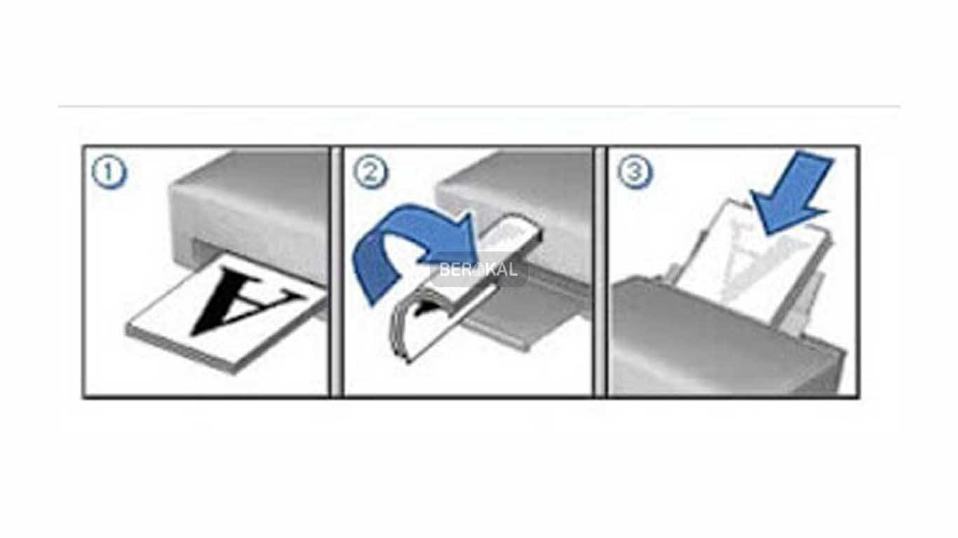 cara print booklet pdf di epson l360