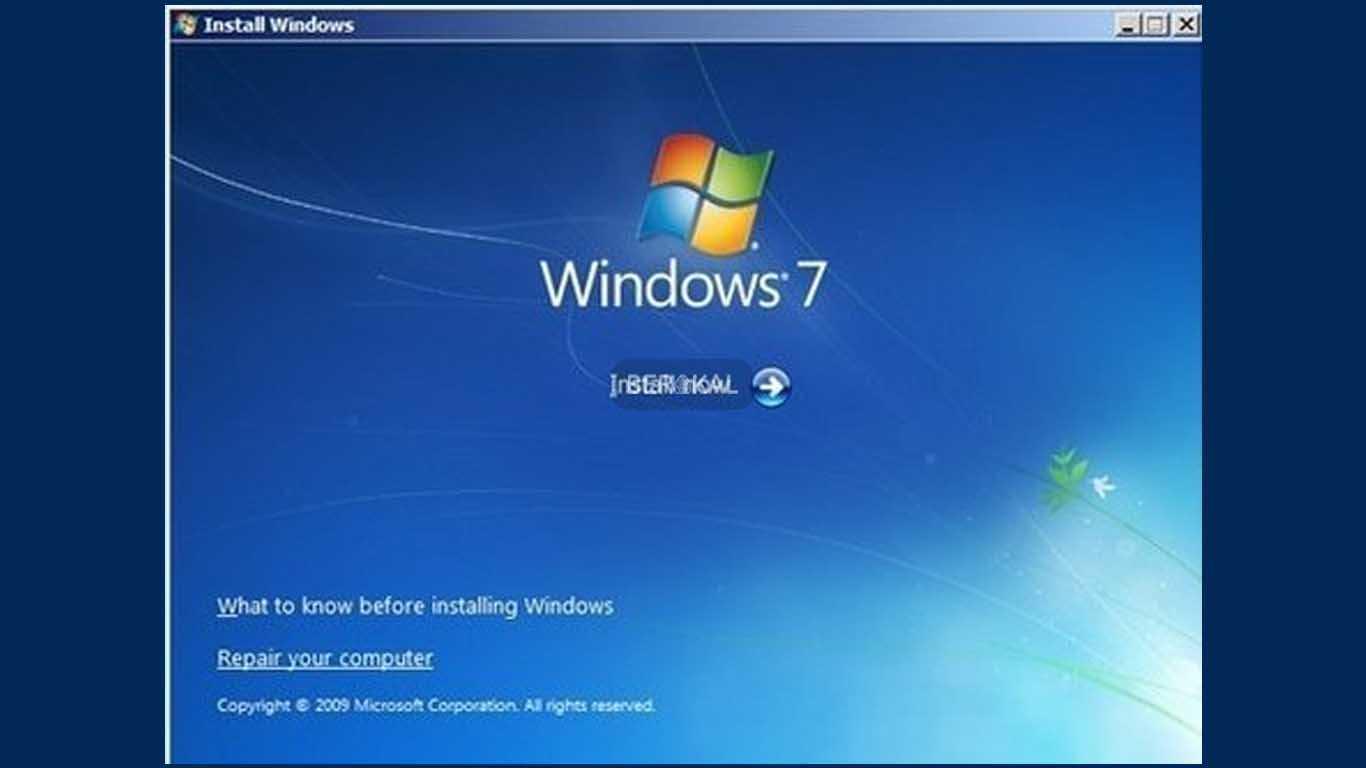 cara repair windows 7 dengan usb bootable