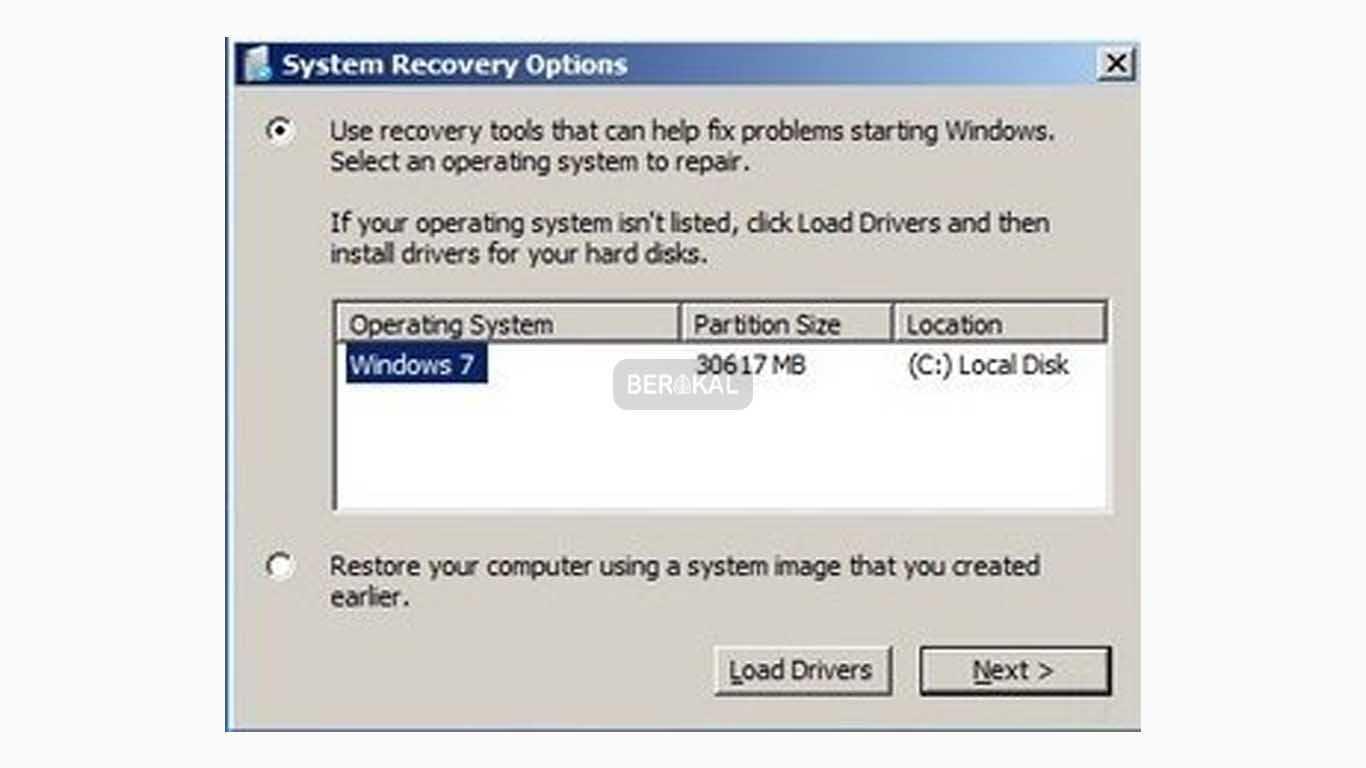 cara repair windows 7 online